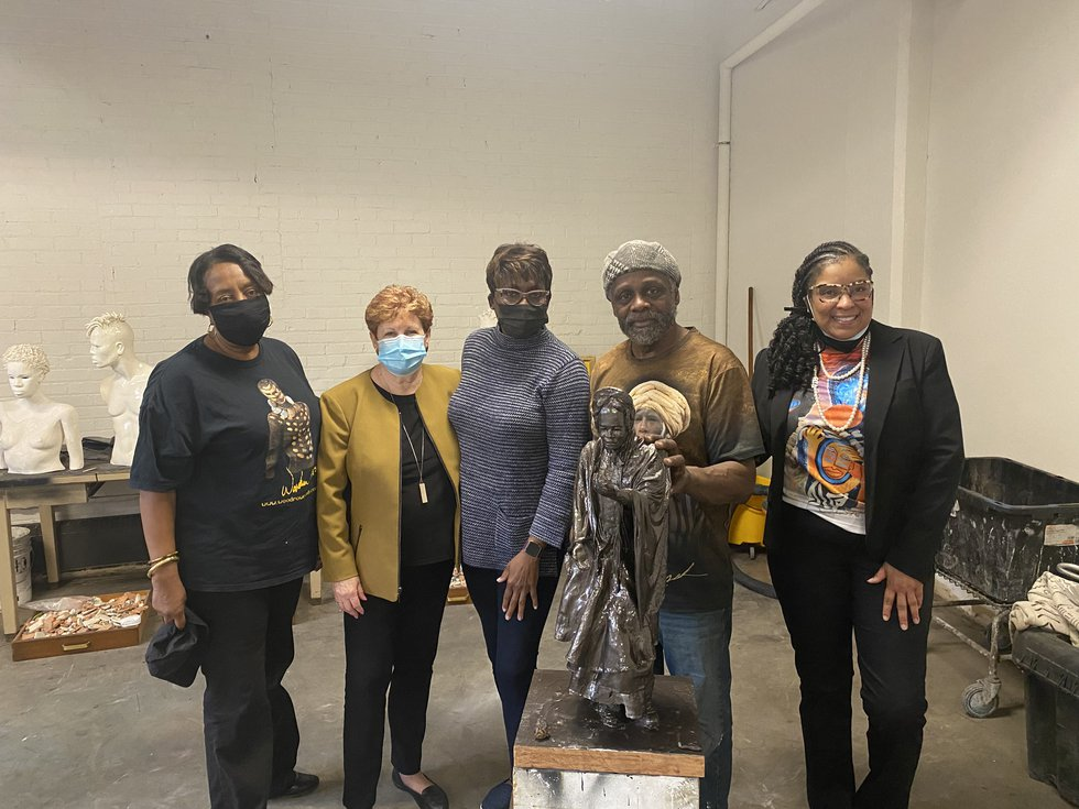 A group of women is leading the effort to honor abolitionist and suffragist, Sojourner Truth,...