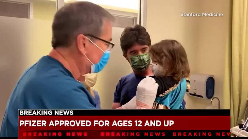 Parents hesitant to get their children vaccinated as FDA authorizes Pfizer COVID-19 vaccine for...
