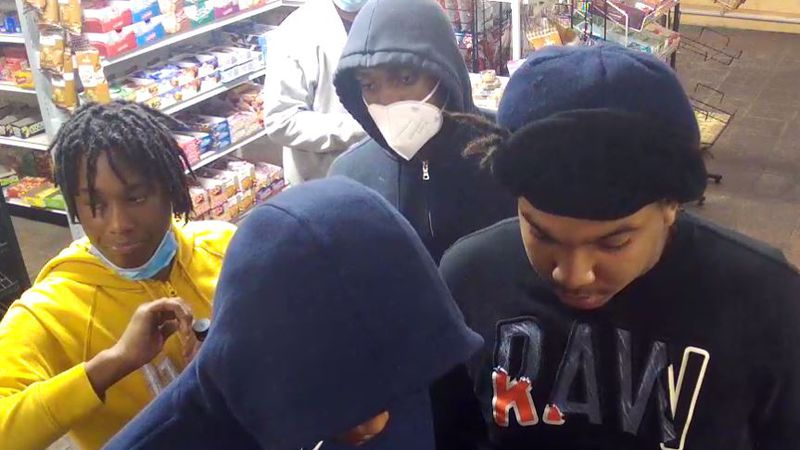 Authorities are asking for the public's help identifying four people in connection with nine...