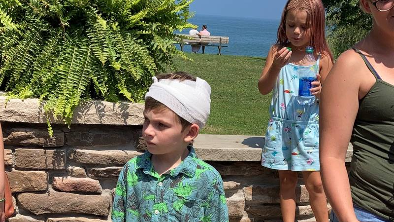 Beulah Beach Corporation honors 7-year-old Kevin Crocker after almost fatal car accident