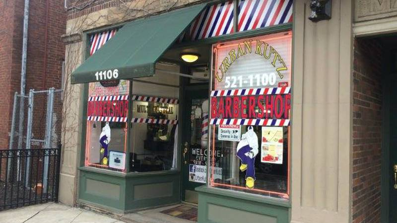 Urban Kutz is just one of many businesses seeing a profit from the RNC. (Source: WOIO)