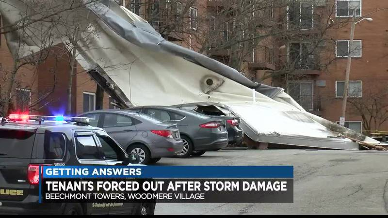 Tenants forced out after storm damage