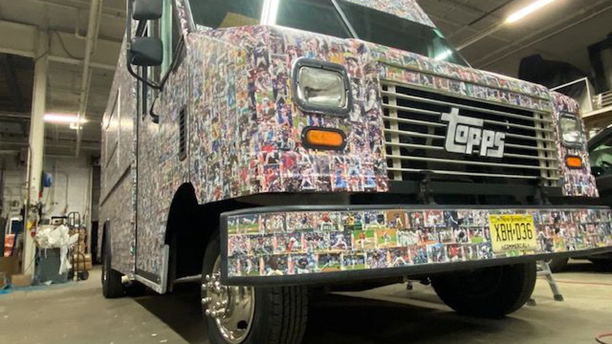 Topps Truck to visit Progressive Field this weekend