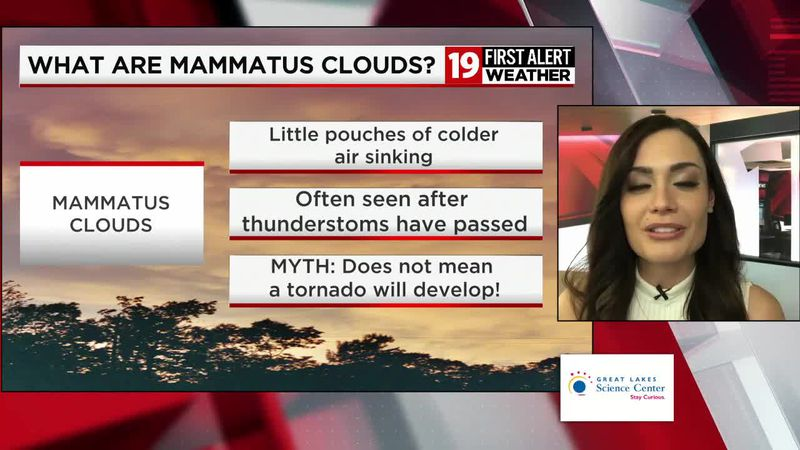 19 First Alert Science School: What are mammatus clouds?