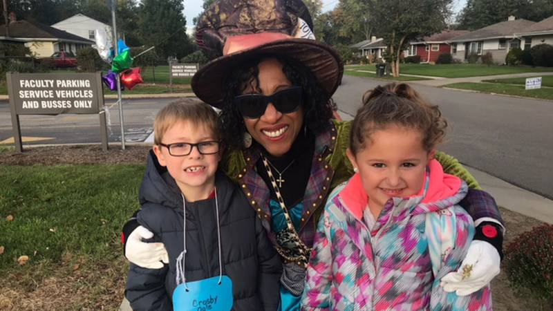 The beloved Berea school crossing guard walked children across the street for the final time on...