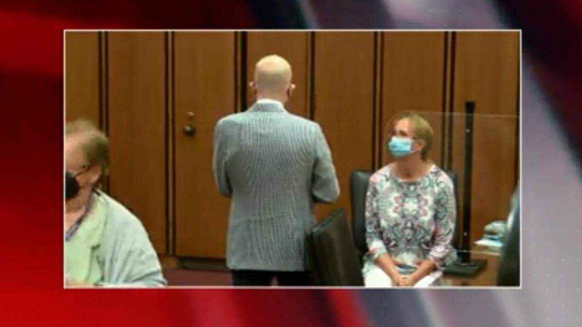 Debbie Bosworth at sentencing