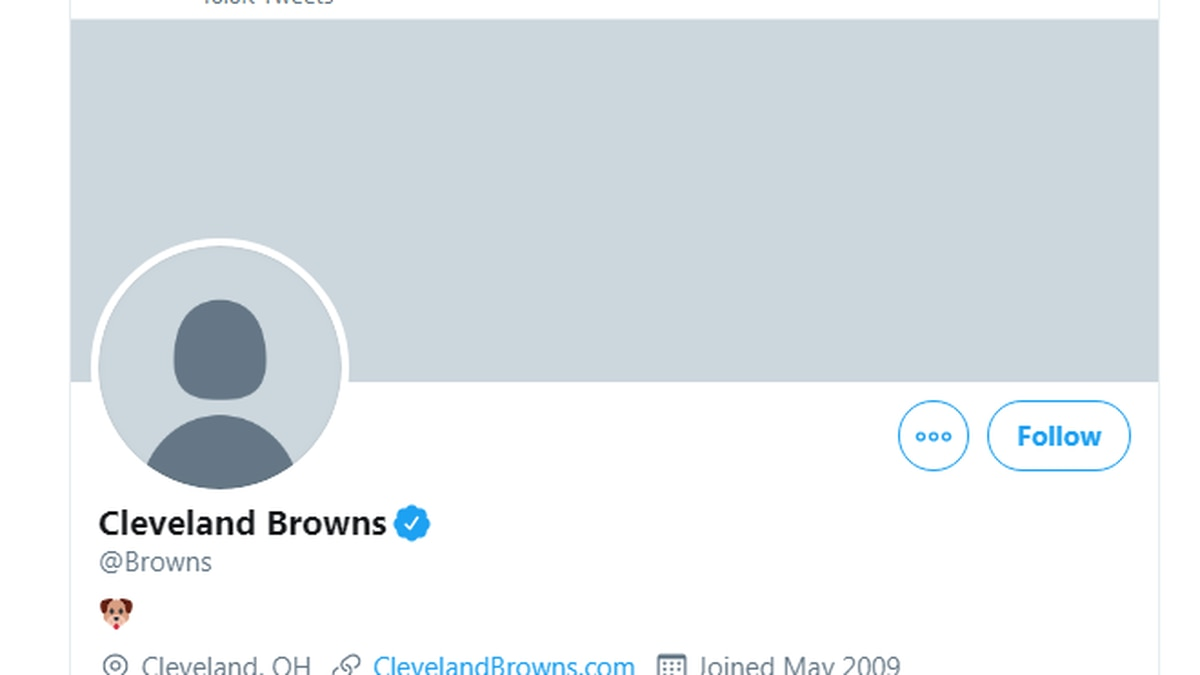 Cleveland Browns' Twitter account hacked