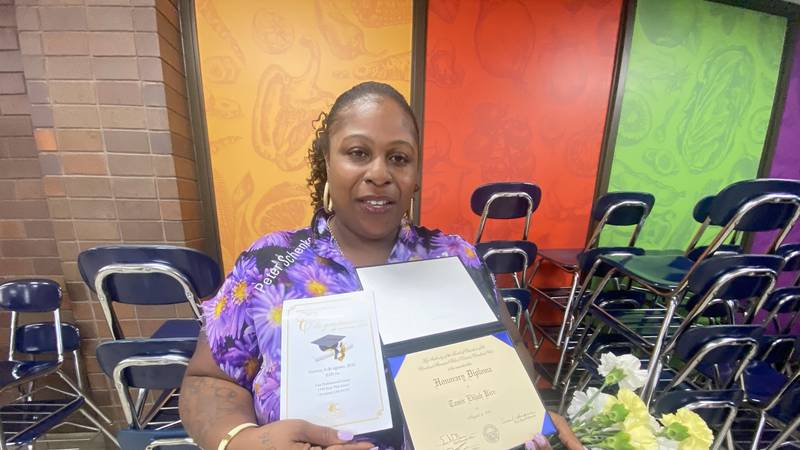 On Friday the Cleveland Metropolitan School District presented his honorary diploma to Tamir's...