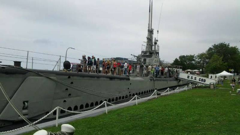 USS COD Submarine Memorial, Cleveland