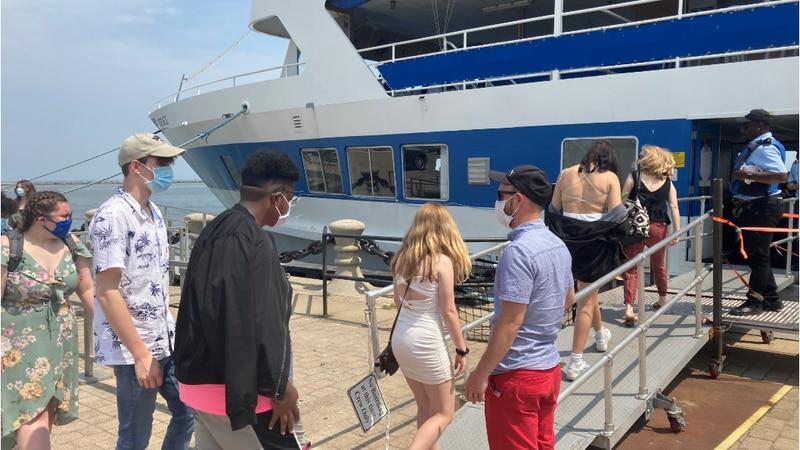 The passenger sightseeing ship, Goodtime III, will begin running at full capacity on June 2nd.