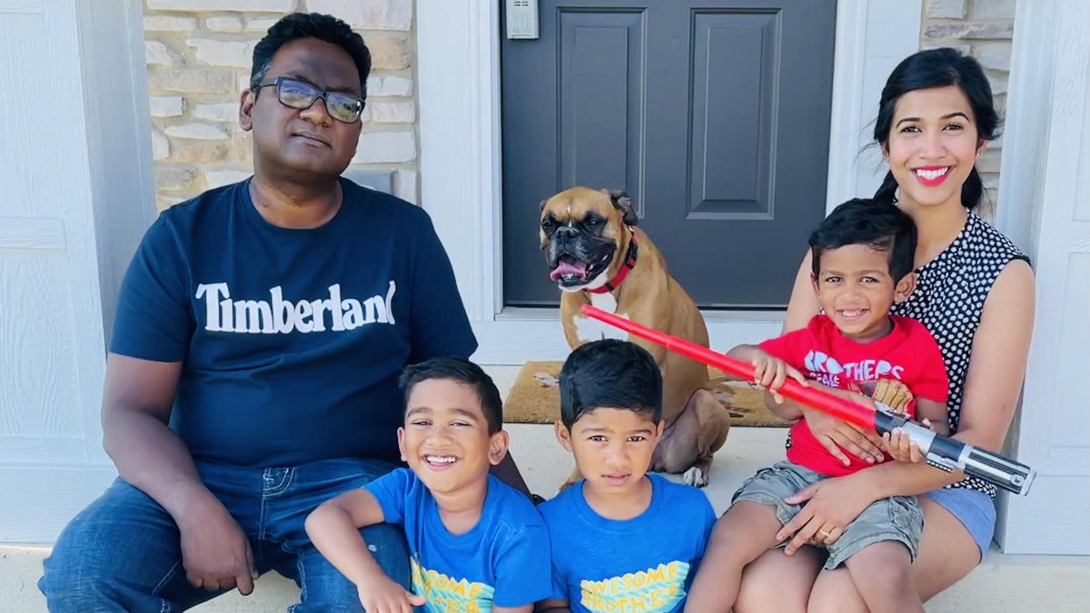 Father's Day has special meaning for a father of three who can celebrate because of life-saving...