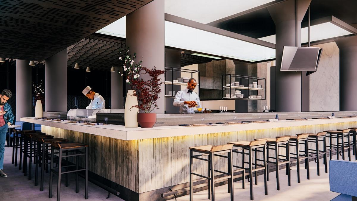 Chef Dante Boccuzzi has begun construction on his new sushi restaurant, Goma.