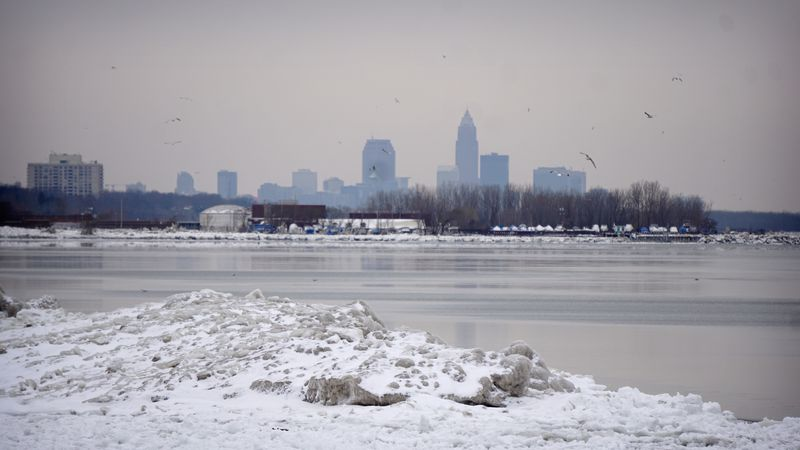 Winter Weather in Cleveland
