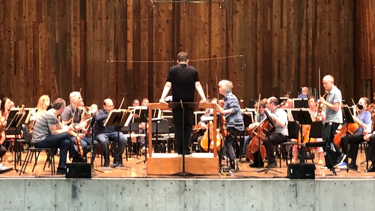 The orchestra returned to Blossom and to performing before in-person audiences Saturday.