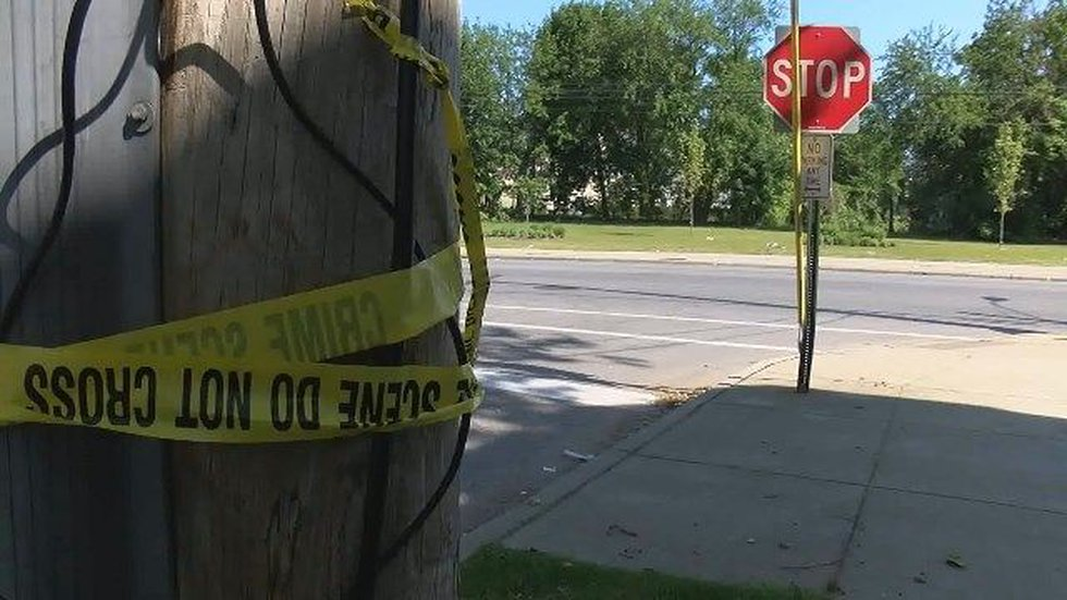 Photo from the scene (Source: WOIO)