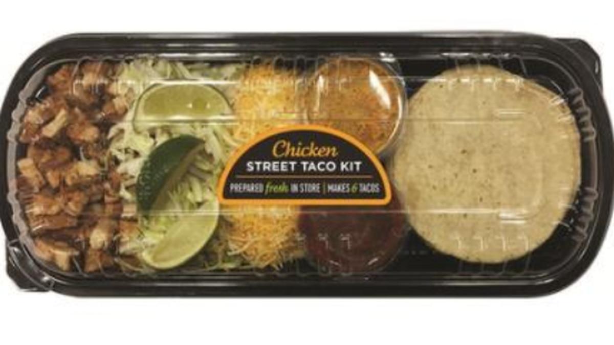 Giant Eagle recalls Chicken Street Taco Kit for undeclared egg allergen in chipotle crema