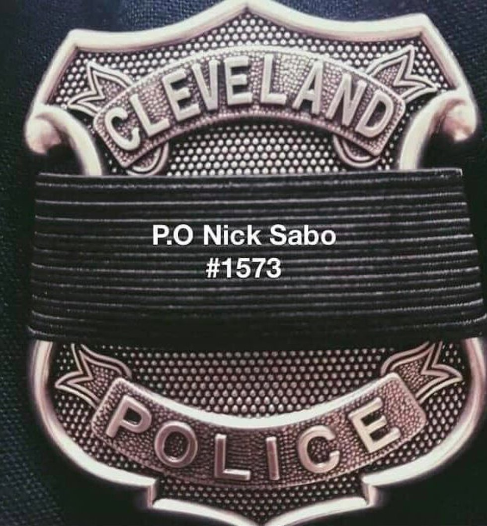 Cleveland Police Officer Nick Sabo took his own life, confirmed the Lorain County Coroner.
