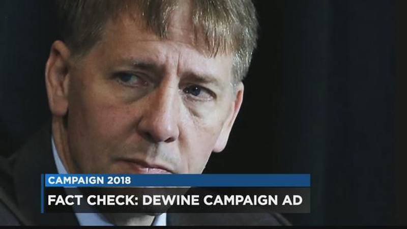 How accurate is Mike DeWine's new attack ad? (Source: WOIO)