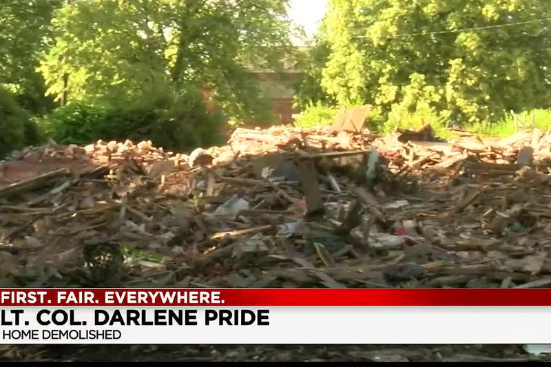Army veteran demands answers after her Cleveland Heights home is demolished
