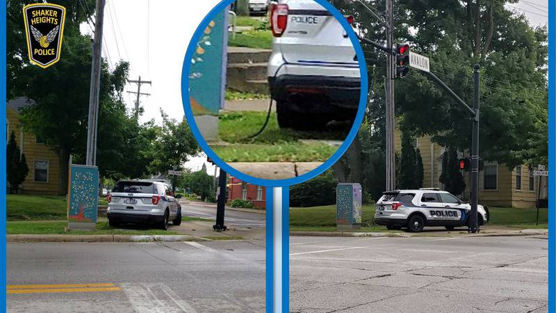 Shaker Heights Police Department is providing power to areas in a unique way.