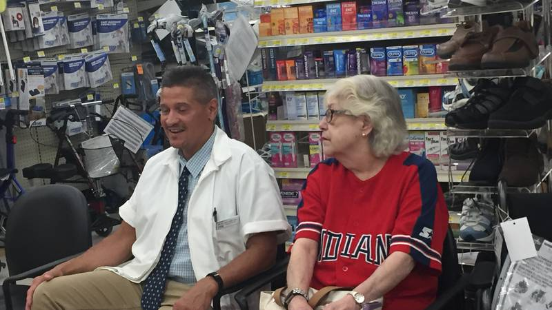 Pharmacist saves customer's life