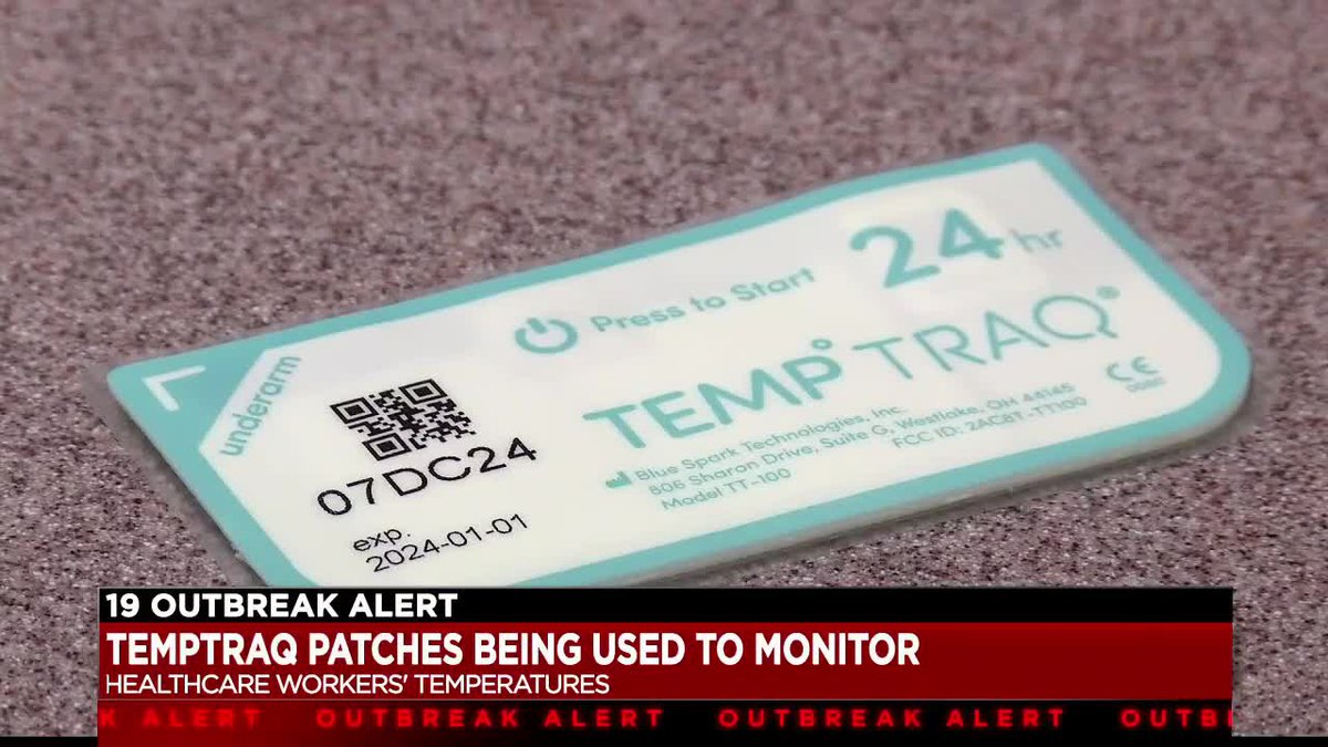 Picture of TempTraq Patch