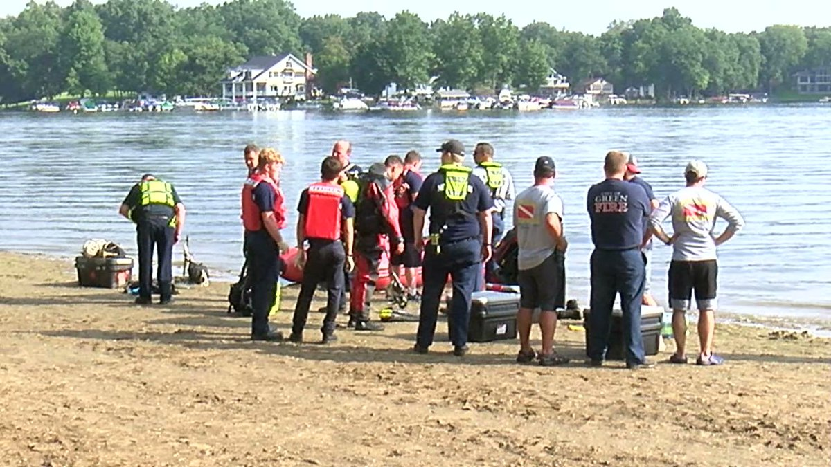 South Summit Water Rescue Team holds mass casualty training drill at Portage Lakes State Park