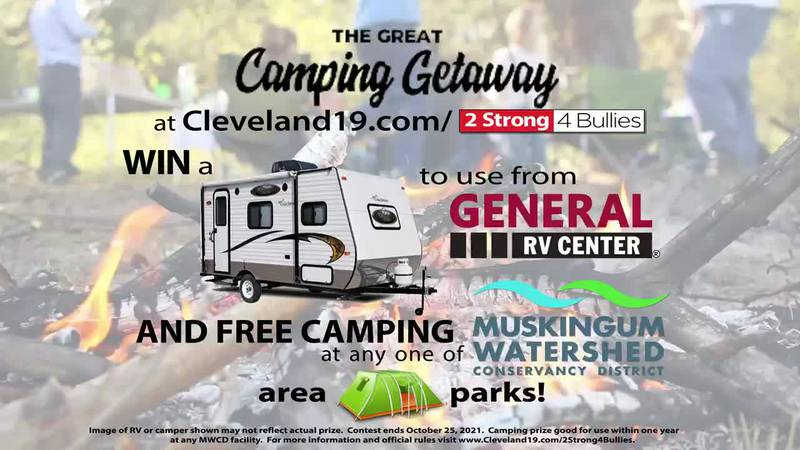 Register to win a camper rental provided by General RV and campsite at a Muskingum Watershed...