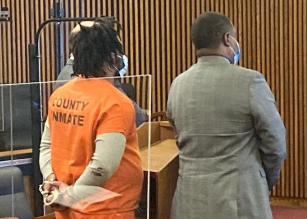 Carl Sanders entered a guilty plea on May 13, 2021.