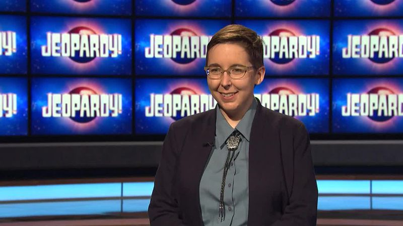 Katie Sekelsky wins Friday's Jeopardy! game