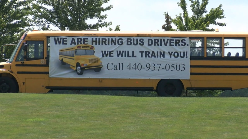 As the school year is about to begin, administrators say the unfilled bus driver openings are...