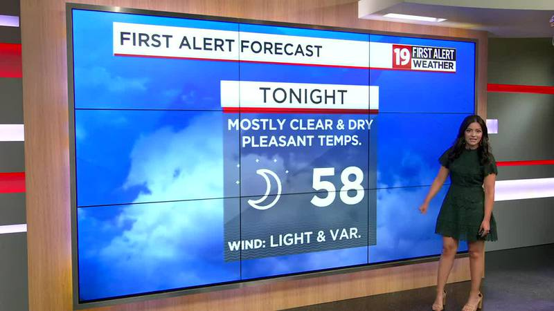 Northeast Ohio Weather: Another late summer beauty in store for Tuesday