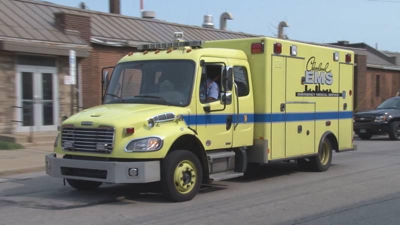 Cleveland EMS ambulance (File photo)