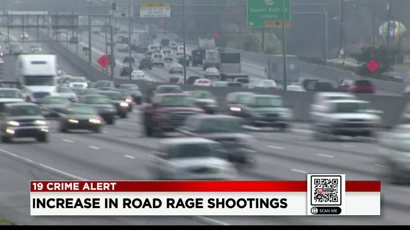Road rage shootings on the rise