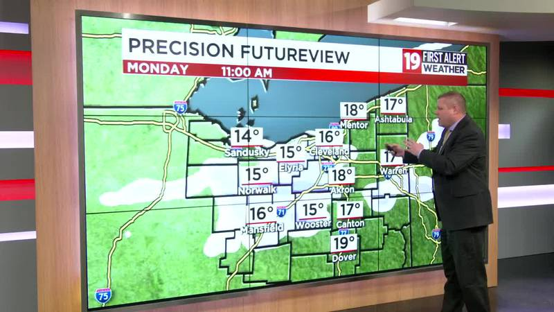 Northeast Ohio Weather: More rounds of snow today/tonight; temperatures in the 20s this afternoon