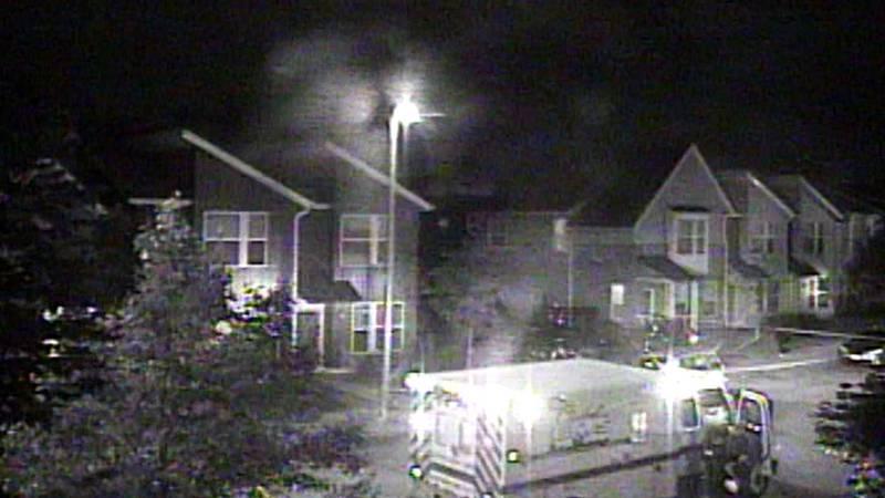 Surveillance camera captures the Sept. 19 murder of Frank Q. Jackson, the grandson of...