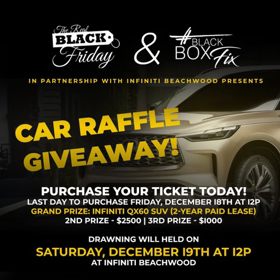 Infiniti of Beachwood is one of the partners for the '2 Days of Christmas Blessings' campaign.