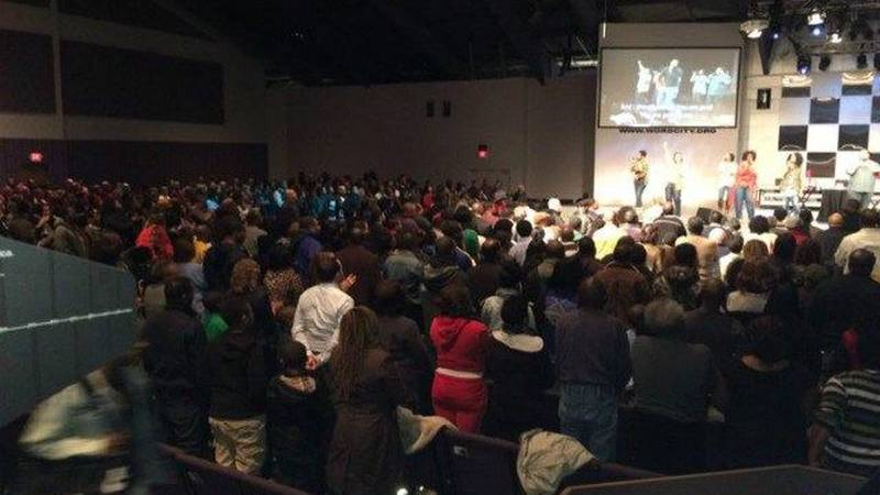The event was held at the Word Church in Cleveland. (Source: WOIO)