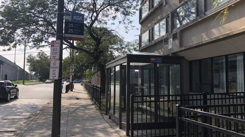 Unidentified man dies after being found shot inside RTA bus stop, Cleveland police say