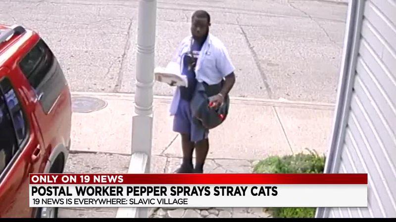 Slavic Village USPS worker in hot seat over apparent pepper spraying incident