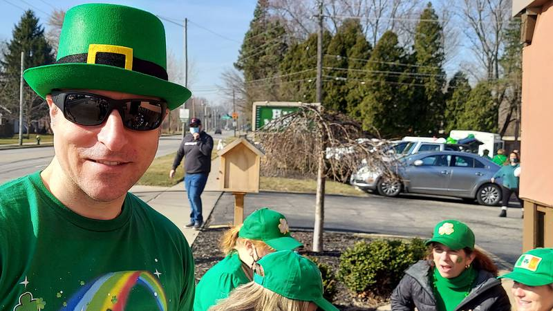 St. Paddy's Day Parade is small but effective