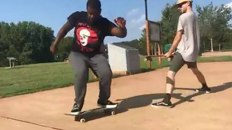 Cleveland 19 News' Victor Williams' second passion besides journalism is skateboarding.