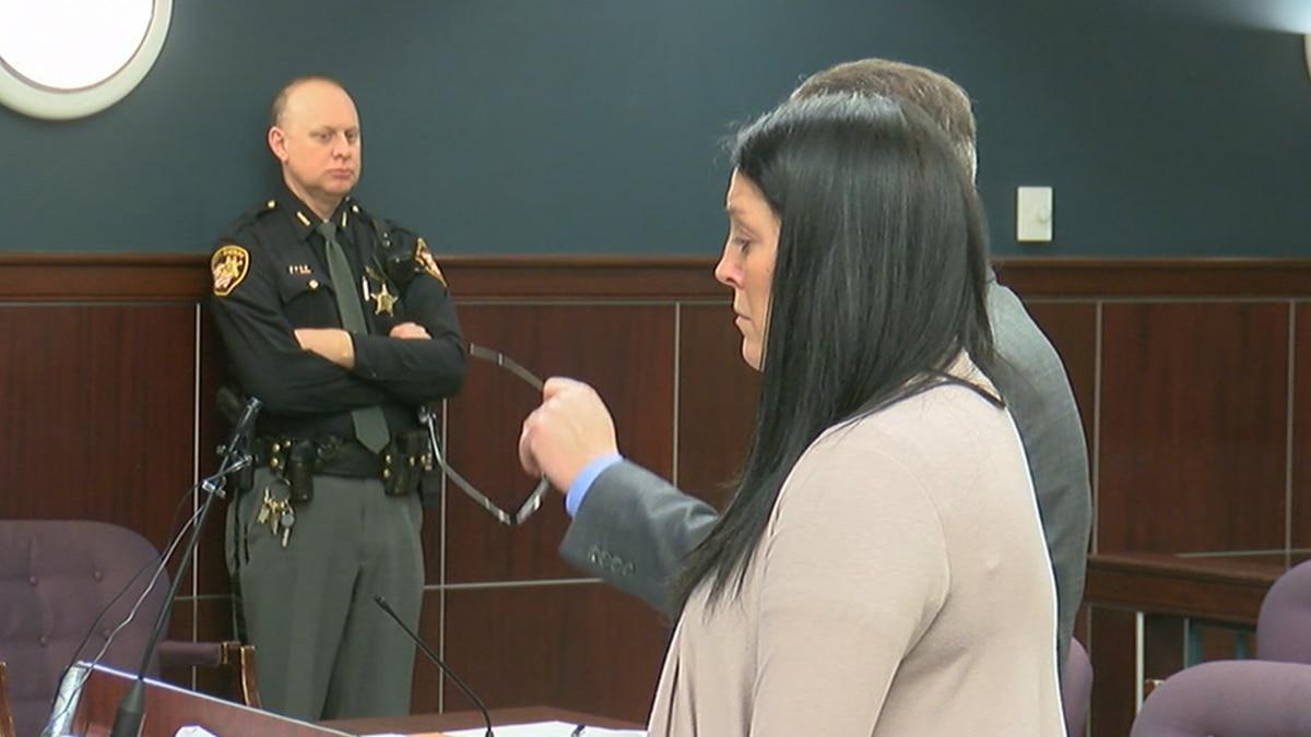 Laura Amero at sentencing