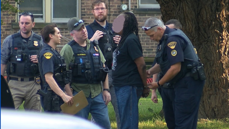 Police said a suspect was taken to the Cuyahoga County jail after a SWAT team negotiated the...
