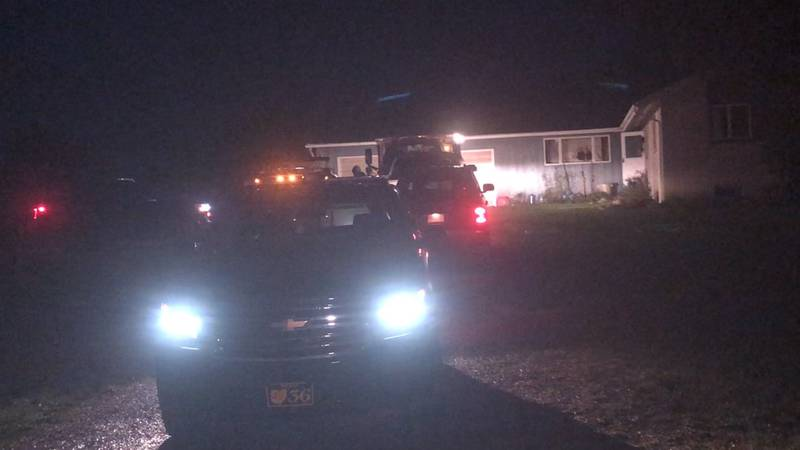 A woman was stabbed by her boyfriend during a standoff with police that lasted for hours and...