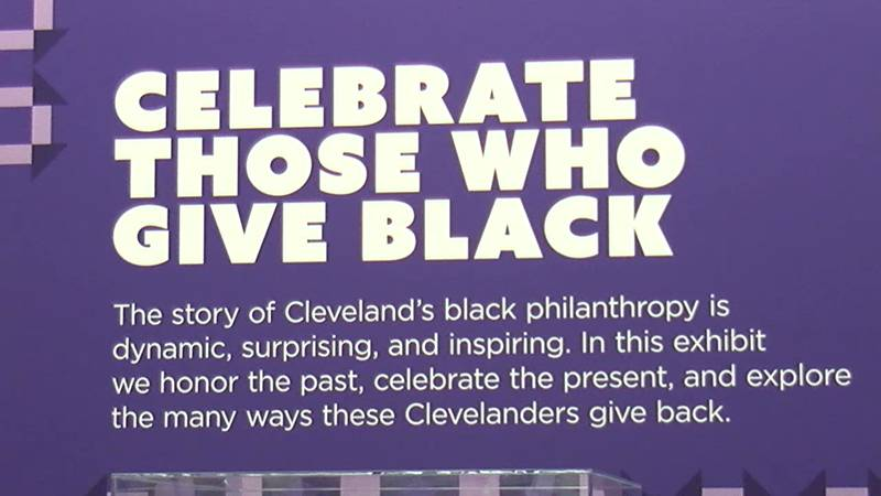 An exhibit that honors Black Philanthropists will be at Cleveland Public Library.