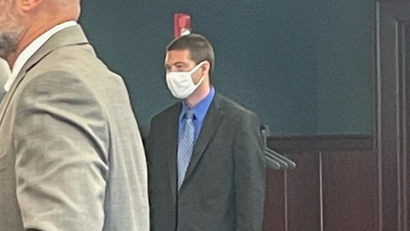Tyler Coia at plea change hearing