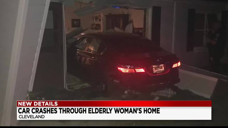 Suspected drunk driver rams into 81-year-old grandmother?s home in Cleveland