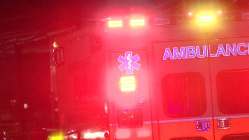 EMS crews brought them to an area hospital.