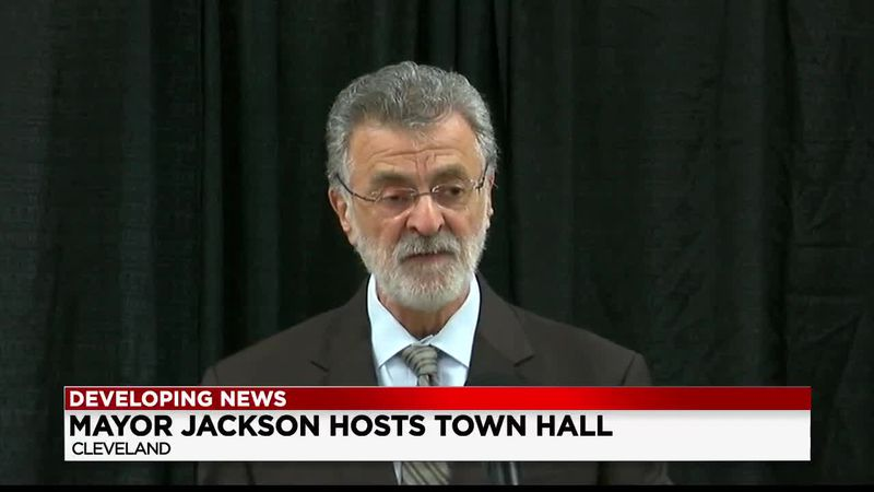 Cleveland Mayor host tele-town hall to address on-going issues in the city
